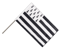 Brittany - Hand Waving Flag PRO 2x3 ft