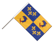 Dauphiné - Hand Waving Flag PRO 2x3 ft
