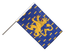 French Comte Hand Waving Flag PRO - 2x3 ft