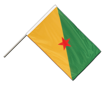 French Guiana - Hand Waving Flag PRO 2x3 ft