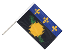 Stockflagge PRO Guadeloupe - 60 x 90 cm