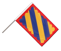 Nivernais Hand Waving Flag PRO - 2x3 ft