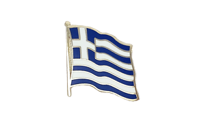 Greece - Flag Lapel Pin