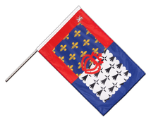 Pay de la Loire - Hand Waving Flag PRO 2x3 ft