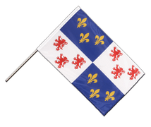 Picardie - Hand Waving Flag PRO 2x3 ft