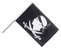 Pirate Corsica - Hand Waving Flag PRO 2x3 ft