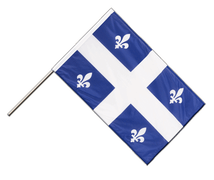 Quebec - Hand Waving Flag PRO 2x3 ft