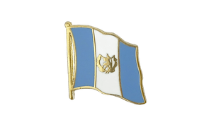 Guatemala - Flag Lapel Pin