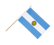 Argentina - Hand Waving Flag 6x9""