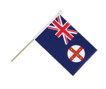 New South Wales - Hand Waving Flag 6x9""