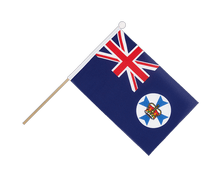 Drapeau sur hampe Queensland - 15 x 22 cm