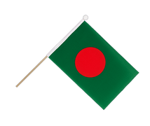 Bangladesh - Hand Waving Flag 6x9""