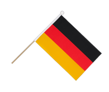 Germany - Hand Waving Flag 6x9""