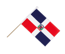 Dominican Republic - Hand Waving Flag 6x9""