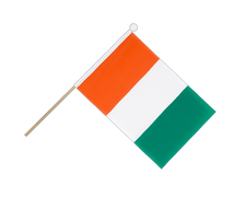 Ivory Coast - Hand Waving Flag 6x9""