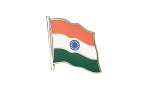 India - Flag Lapel Pin