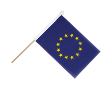 European Union EU - Hand Waving Flag 6x9""