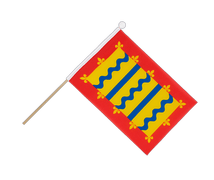 Cambridgeshire - Hand Waving Flag 6x9""