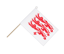 Dorset civil - Hand Waving Flag 6x9""