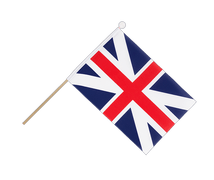 Great Britain Kings Colors 1606 - Hand Waving Flag 6x9""