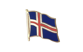 Iceland - Flag Lapel Pin