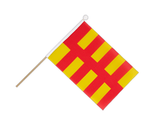 Northumberland - Hand Waving Flag 6x9""