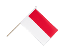 Indonesia - Hand Waving Flag 6x9""