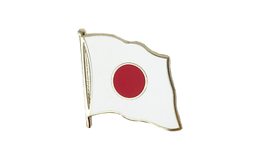 Japan - Flaggen Pin 2 x 2 cm