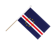 Cape Verde - Hand Waving Flag 6x9""