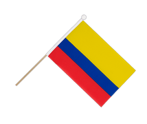 Colombia - Hand Waving Flag 6x9""