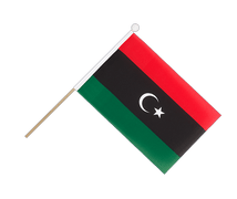 Kingdom of Libya 1951-1969 Opposition Flag Anti-Gaddafi Forces - Hand Waving Flag 6x9""