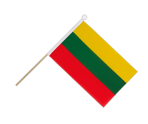 Lithuania - Hand Waving Flag 6x9""