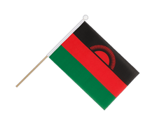 Malawi new - Hand Waving Flag 6x9""