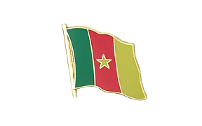 Cameroon - Flag Lapel Pin