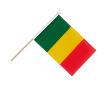 Mali - Hand Waving Flag 6x9""