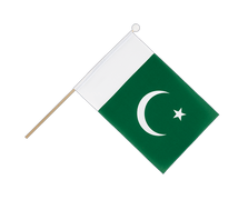 Pakistan - Hand Waving Flag 6x9""