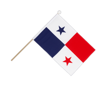 Panama - Hand Waving Flag 6x9""