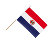 Paraguay - Hand Waving Flag 6x9""