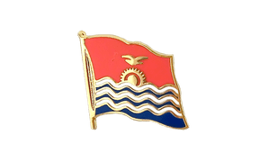 Kiribati - Flag Lapel Pin
