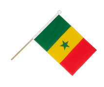 Senegal - Hand Waving Flag 6x9""