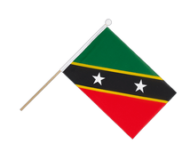 Saint Kitts and Nevis - Hand Waving Flag 6x9""
