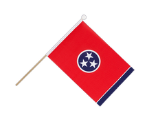 Tennessee - Hand Waving Flag 6x9""