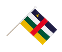 Central African Republic - Hand Waving Flag 6x9""