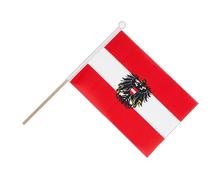 Austria eagle - Hand Waving Flag 6x9""