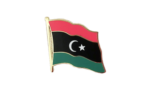 Kingdom of Libya 1951-1969 Opposition Flag Anti-Gaddafi Forces - Flag Lapel Pin