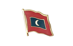 Maldives - Flag Lapel Pin