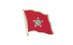 Morocco - Flag Lapel Pin