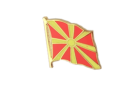 Macedonia - Flag Lapel Pin
