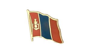 Mongolia - Flag Lapel Pin