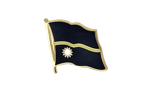 Flag Lapel Pin Nauru